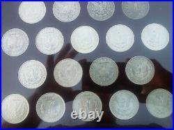 Morgan Silver Dollar Complete Year Set 1878-1921 Capital Holder