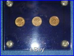 Nation Of Celestial Space, Complete Set (7) Coins, Celestons, Joules, And Erg