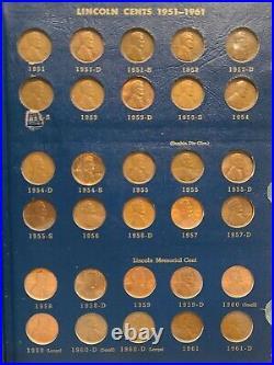Near complete set 1909 to 1974 Lincoln Penny Cent Dansco Album Incl. 1914D 1931S