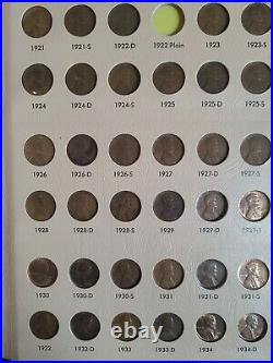 Near complete set 1909 to 1984 Lincoln Penny Cent Dansco Album Incl. 1931S