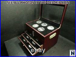 NobleSpirit AMERICA THE BEAUTIFUL 56 coin 5oz COMPLETE UNC SET In Wooden Case