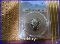 PCGS Certified Jefferson Nickel Complete Proof Set 1938-2020 S