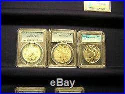 Peace Dollar Complete Set All Mint State + Possible Gold/ Investment