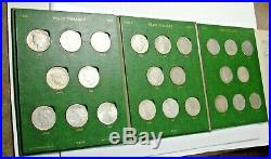 Peace Dollar Complete Set Of 24 Pds Mints With All Key Dates In Whitman Aulbum