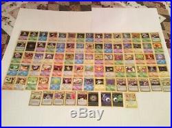Pokemon Complete 1st Edition Team Rocket Set 83/82 Uncirculated