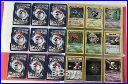 Pokémon Team Rocket 1rst Edition COMPLETE 100% First Ed. 83/82 Uncirculated Set