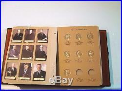 President Dollars Complete Set 2007-reagan (39 Coins)+dansco Albumfree Shipping
