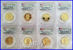 Presidential Dollar Pcgs Pr70dcam First Strike Complete Set All 39 Coins