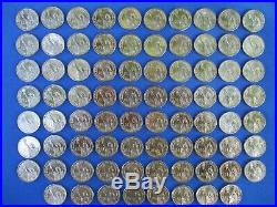 Presidential Dollars Complete BU Set P&D (78) Coins Album