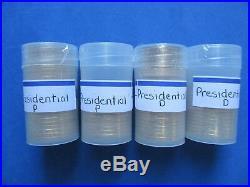 Presidential Dollars Complete BU Set P&D (78) Coins Tubes