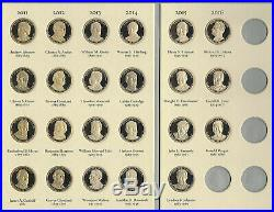 Proof Presidential Dollars 2007-2016 Complete Collection39 Pc Set In Folder
