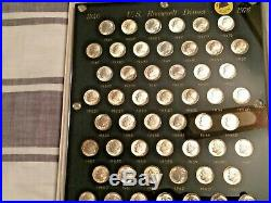 ROOSEVELT DIME COLLECTION a Complete Set of 79 Silver & Clad 1946-1976 NICE