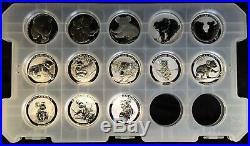 Rare! Complete Set (13) Australia 1 Oz. Silver Koala Coins 2007 2019 Koalas