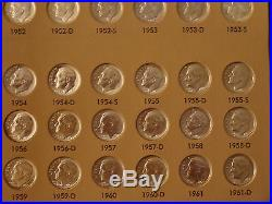 Roosevelt Silver and Clad Dime Set Complete 1946-1964-2012 209 Coins All BU