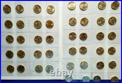 Sacagawea / Native American Dollars Complete Set 2000-2021 P & D in Album