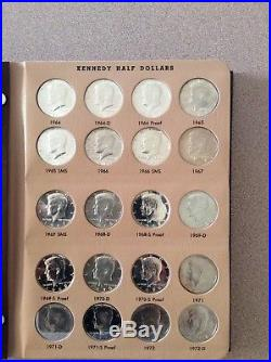 Set / Collection Kennedy Halves 1964 2017 PDSS complete all Bu and proof 182 pcs