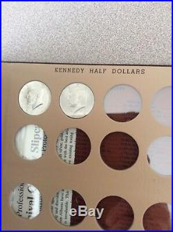 Set / Collection Kennedy Halves 1964 2018 PD complete all BU 102 coins not proof