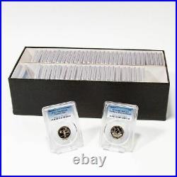 Set of 56 1999-S 2008-S Complete State Quarter Set PR69DCAM Clad