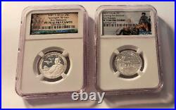 Silver State Park Quarter Complete 57 coin Set NGC PR70 Ultra Cameo Save WOW