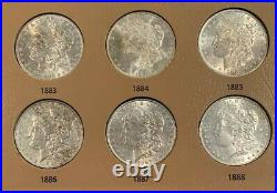 Spectacular 32 Coin COMPLETE 1878-1921 Morgan Silver Dollar Date/Mint Set GEM/BU