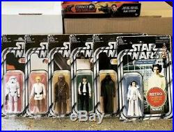 Star Wars Vintage Retro Collection Complete Set 6 UNCIRCULATED