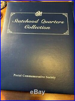 Statehood Quarters Collection Postal Commemorative Society Complete Set