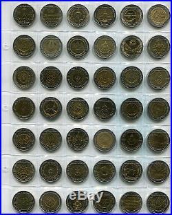 Thailand Complete 61 Coin 10 Baht Bi Metallic Set 1996 2012 Rama IX Thai d