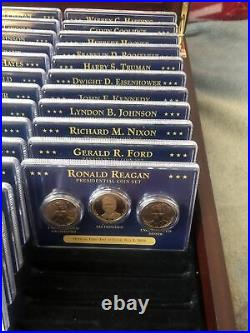 The Complete U. S. Presidential Coins Collection 39 Sets Included Up To Reagan