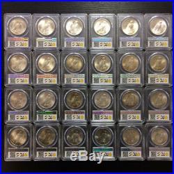 The Current Finest Complete Peace Dollar PCGS Registry Set, Circulation Strik