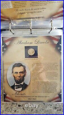 The United States Presidents Coin Collection Volume I 22 sheets, complete set 1