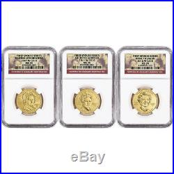 US First Spouse Gold 1/2 oz BU $10 Complete 41 Coin Set NGC MS70