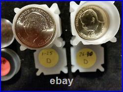 US PRESIDENTIAL DOLLAR complete SET 2007-2016, +2020 George Bush! 80 BU Coins