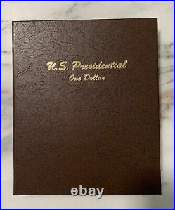 US Presidential Dollar P & D (80 Coins) Complete Set In Dansco 7184
