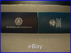 U. S. COMMEMORATIVE SILVER PROOF COIN LOT! 14 SETS! COMPLETE WithBOXES & COA`S