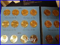 Volume 2 Complete Set (P&D) 2012-2016 Presidential $1 Golden Dollar BU 38 Coins