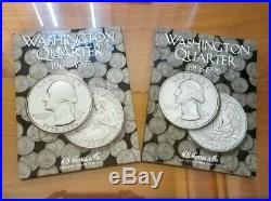 Washington Quarters 1965-1998 Complete Set BU UNCIRCULATED MINT 66 COINS